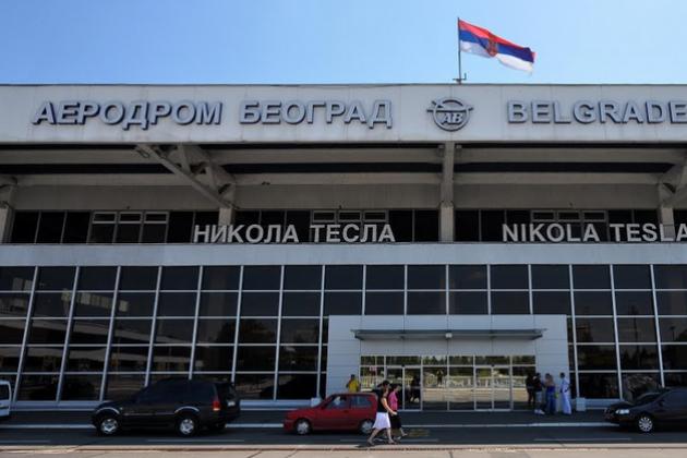 aeropuerto de belgrado