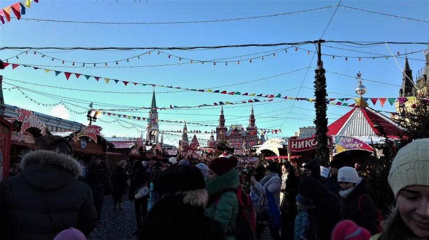 Feria en la Plaza Roja